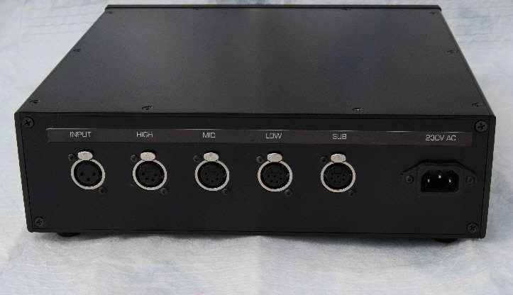 NS1000 amp Rear